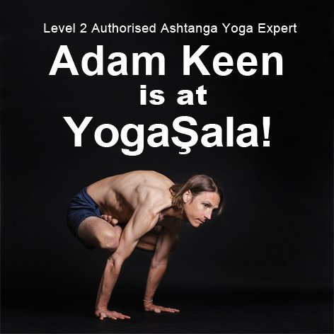 Level 2 Authorised Ashtanga Yoga Expert  Adam Keen is at YogaŞala!   March 2020