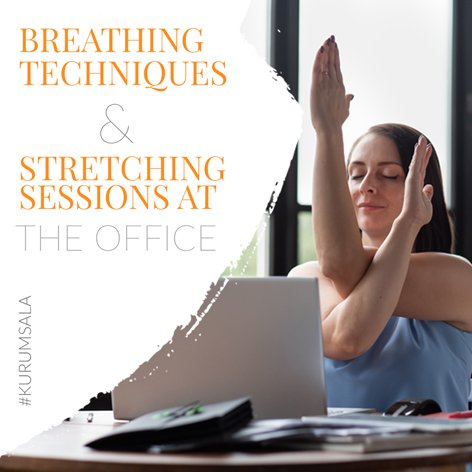 Breathing Techniques and Stretching Sessions
