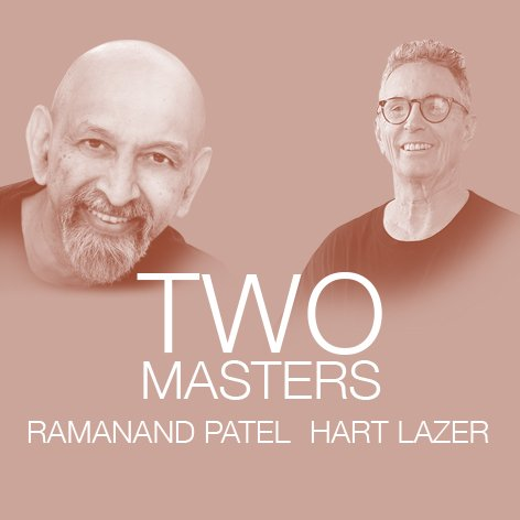 Masters in town!  Ramanand Patel & Hart Lazer co-teaching at YogaŞala