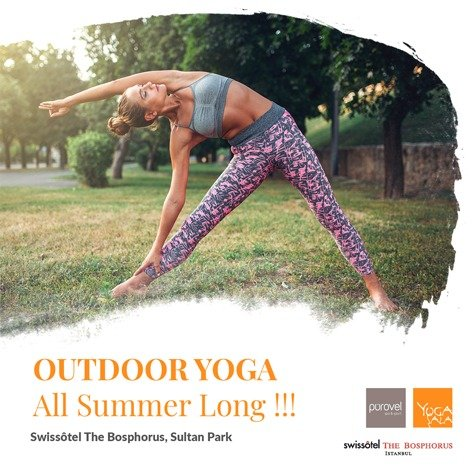 Outdoor Yoga All Summer Long!- Swissotel