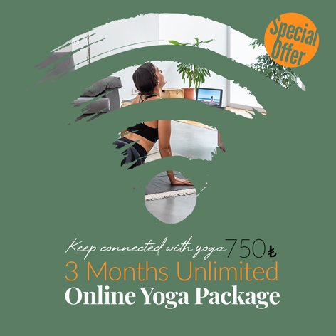 3 Months Unlimited Online Yoga Package