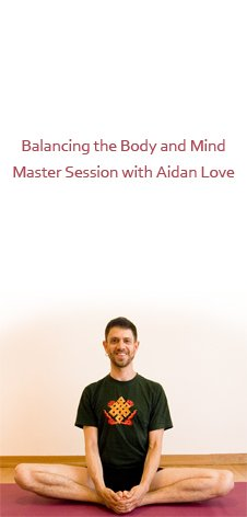 Balancing the Body and Mind Master Session with Aidan Love